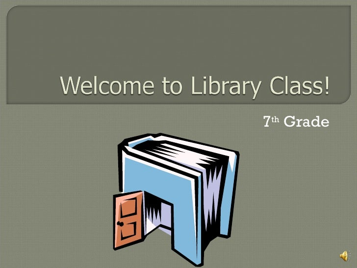 Library intro7th
