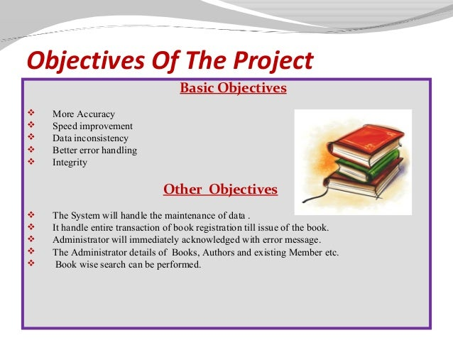acknowledgement of library system