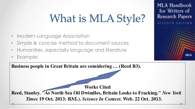 modern library association style for citing sources in an essay