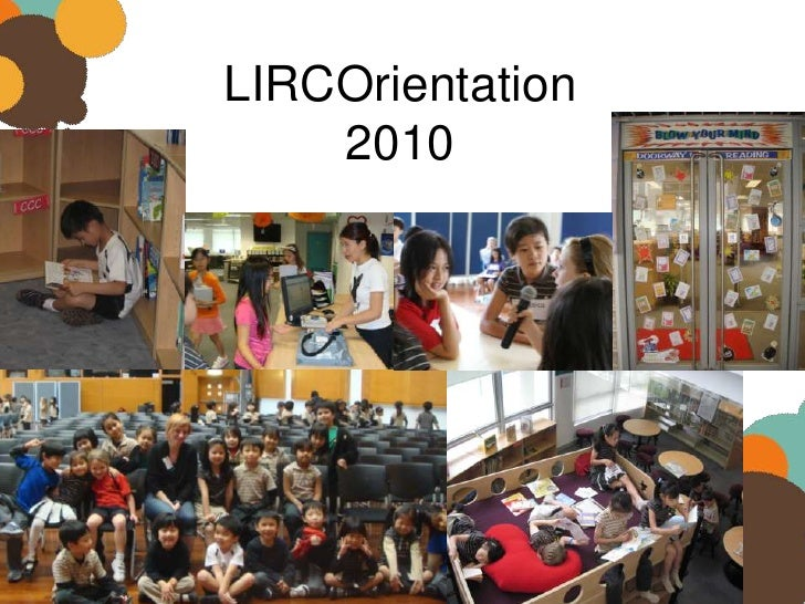 Library orientation 2010