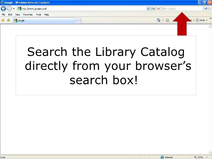 Get the most out of your library! Placing a Hold NASHVILLE PUBLIC LIBRARY <ul><li>Data Summary of Library Services and Pro...