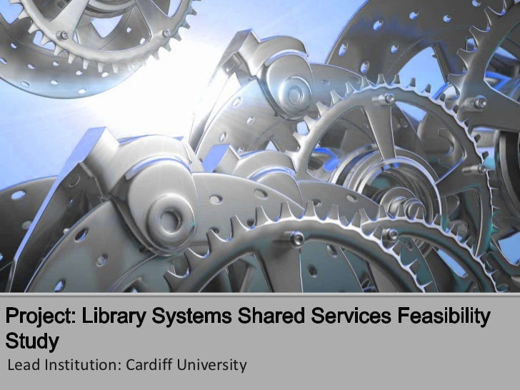 Library shared service feasibility study (whelf)