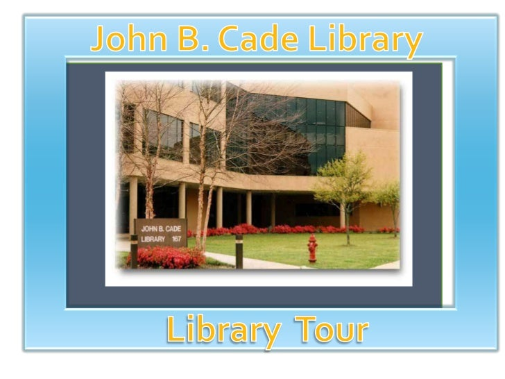 Library tour powerpoint2