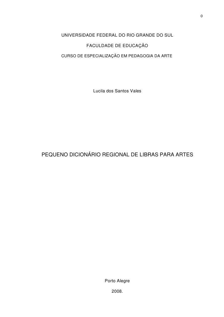 Libras Artes