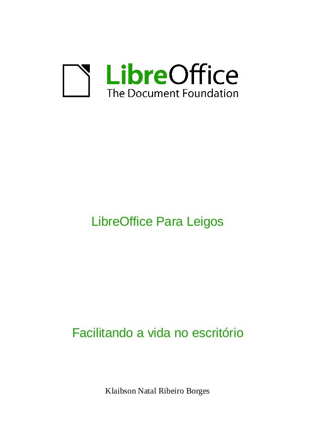 Libre Office para Leigos