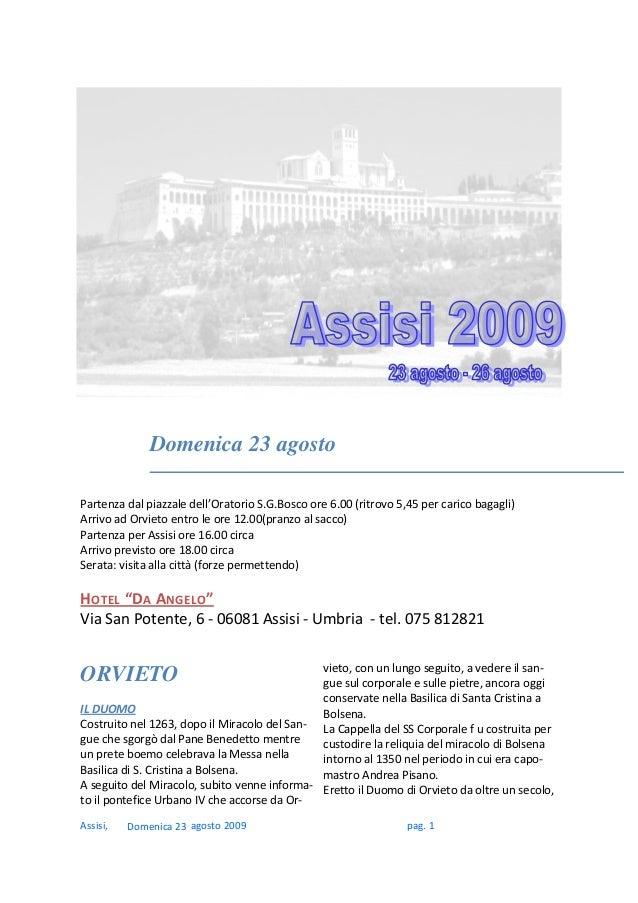 Assisi,agosto2009pag.1...