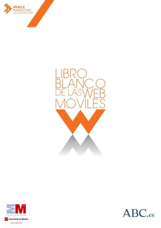 LIBRO BLANCO WEB MÓVILES DE LAS