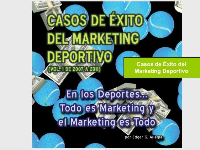 Casos de Éxito del Marketing Deportivo