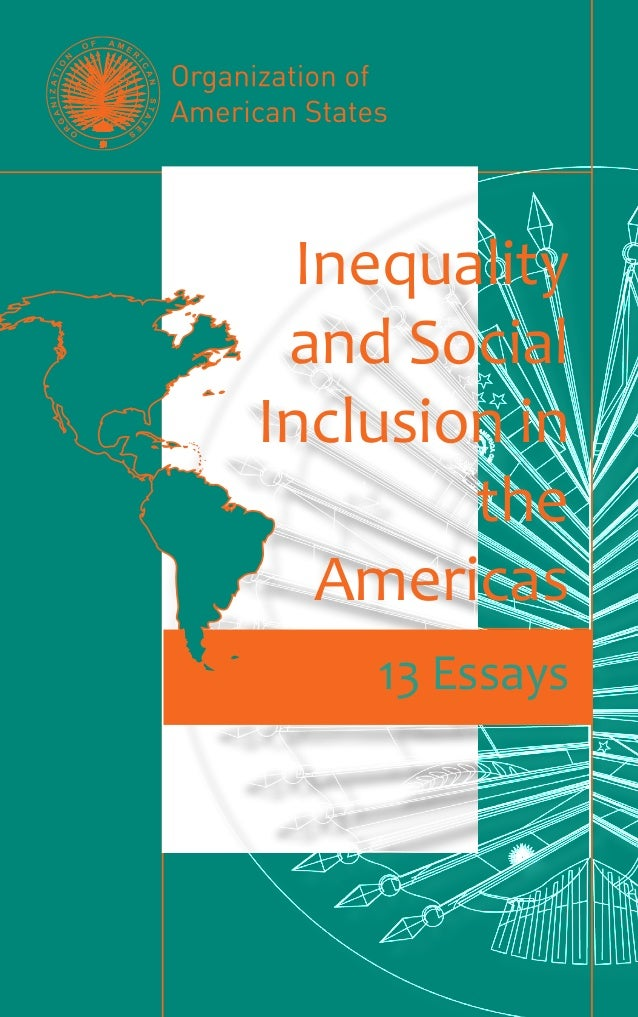 OAS: INEQUALITY AND SOCIAL INCLUSION IN THE AMERICAS