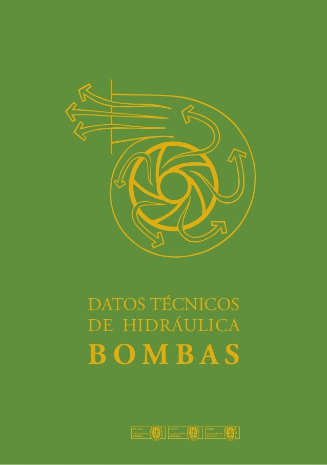 DATOS TÉCNICOS DE HIDRÁULICA  BOMBAS UNE 166.002  ISO 14001