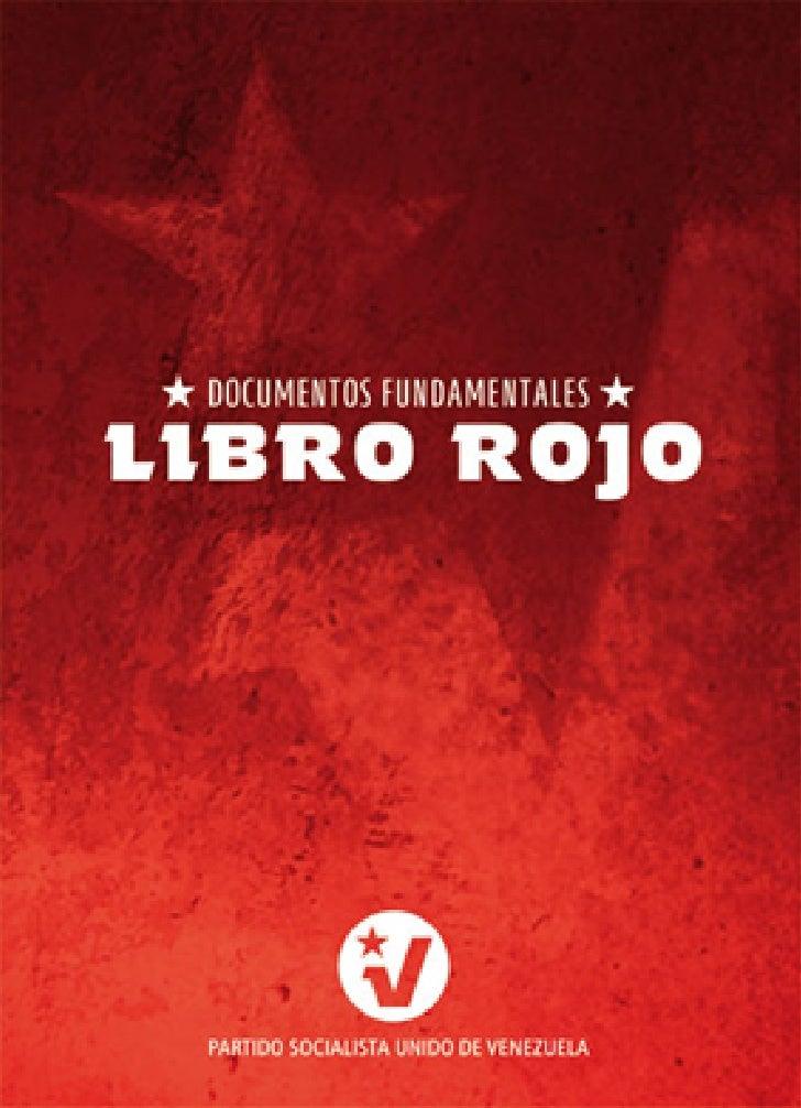 LIBRO ROJO DEL PSUV