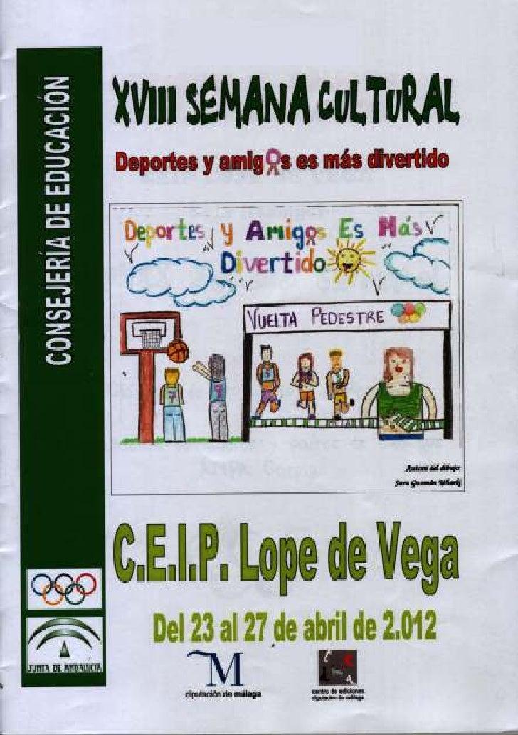 Semana Intercultural CEIP Lope de Vega