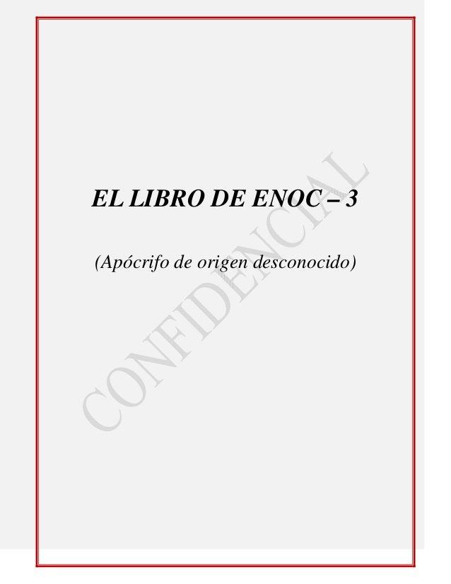 El libro de enoc 3 ap 243 crifo de origen desconocido 3