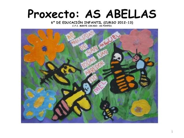 Proxecto: AS ABELLAS6º DE EDUCACIÓN INFANTIL (CURSO 2012-13)C.P.I. MONTE CAXADO- AS PONTES1