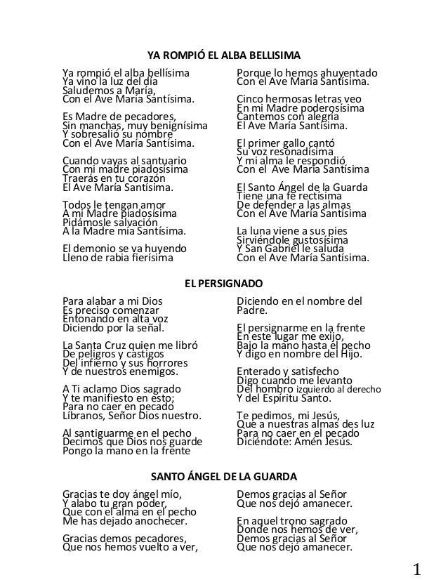 Cantos Catolicos De Alabanza Letra Y Acordes