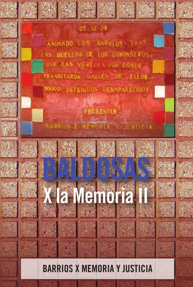 baldosas  X la Memoria IIBARRIOS X MEMORIA Y JUSTICIA