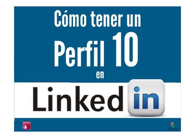"""Libro  """"Cómo tener un perfil 10 en LinkedIn"""" de Esmeralda Diaz Aroca"""