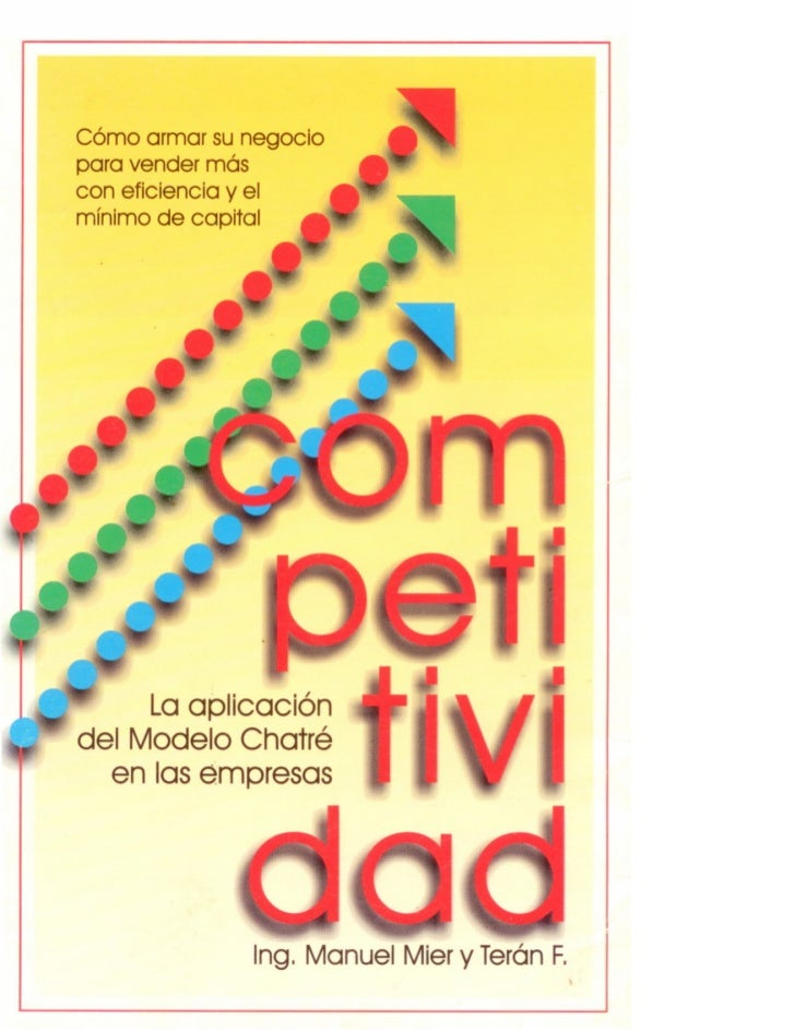 Libro Competitividad (Modelo Chatre)