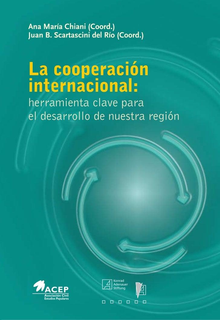 Libro La cooperación internacional   publicación acep-kas