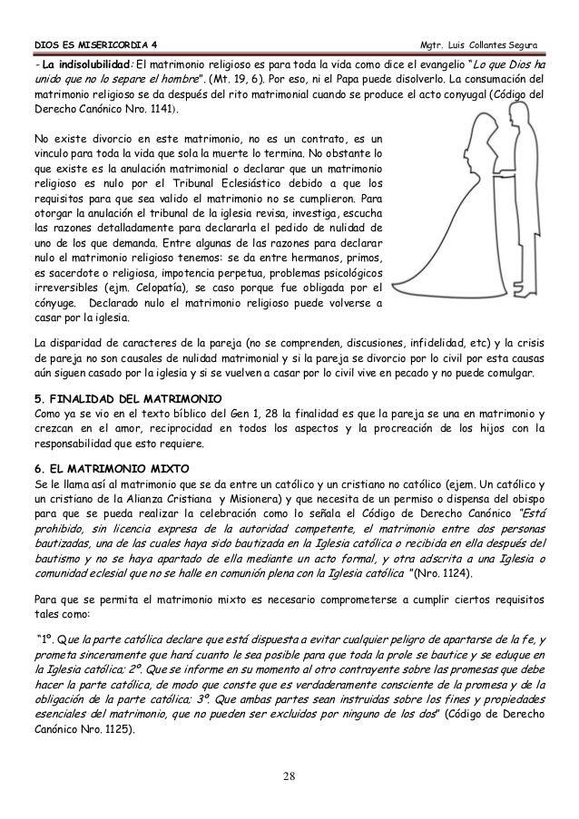 Un Matrimonio Catolico Se Puede Anular : Cuaderno de trabajo para religión