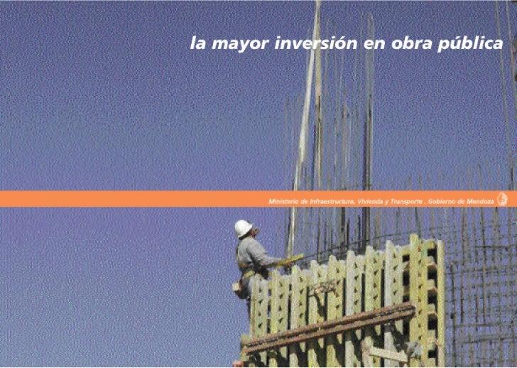 El Ministerio de Infraestructura, Vivienda yTransporte, trabaja con una concepción deintegración social y territorial, con...