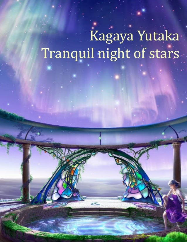 1Kagaya YutakaTranquil night of stars