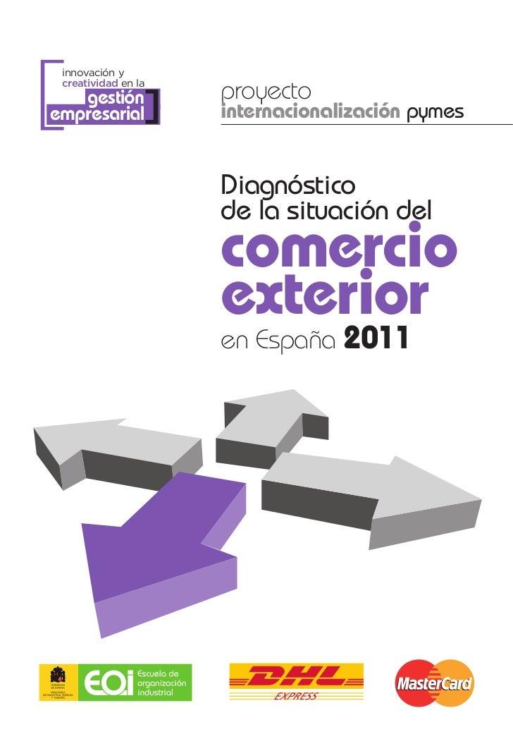 Libro diagnóstico del comercio exterior en España