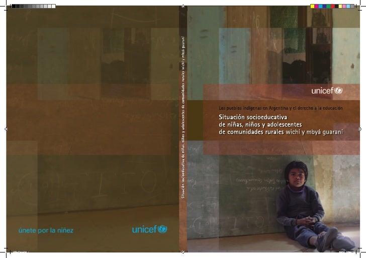 Los pueblos indígenas en Argentina y el derecho a la educación.
