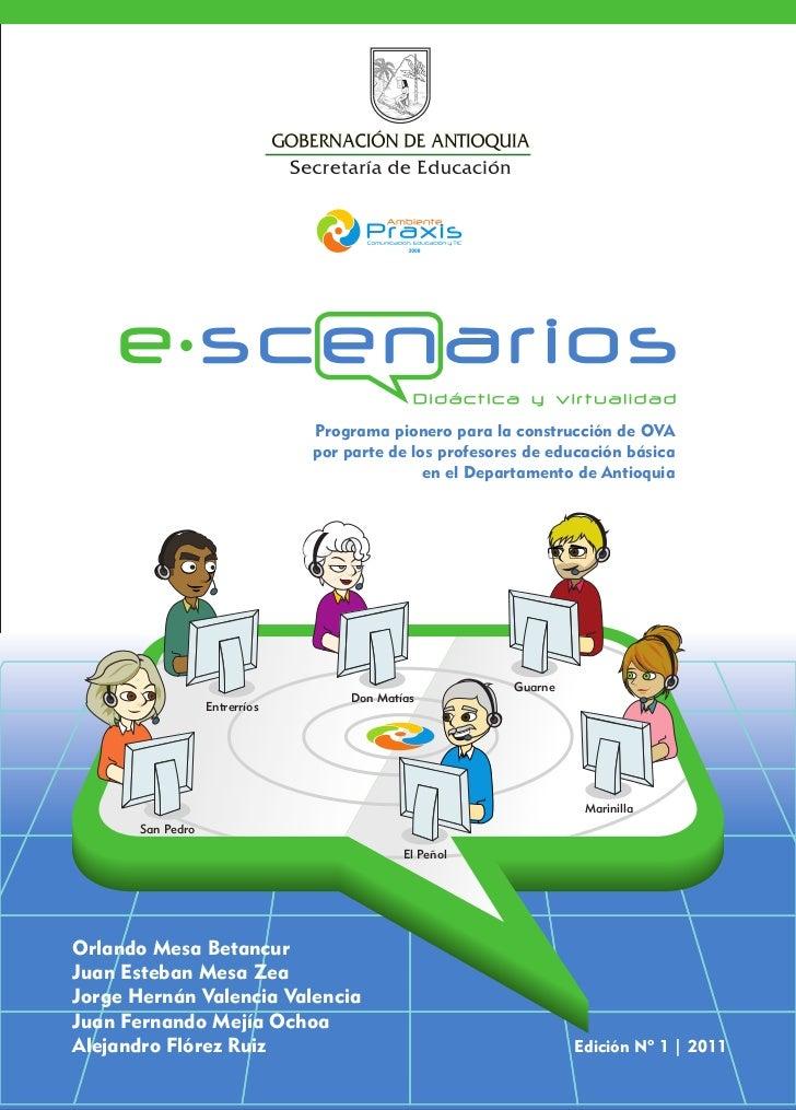 Programa pionero para la construcción de OVA por parte de los profesores de educación básica en el Departamento de Antioquia