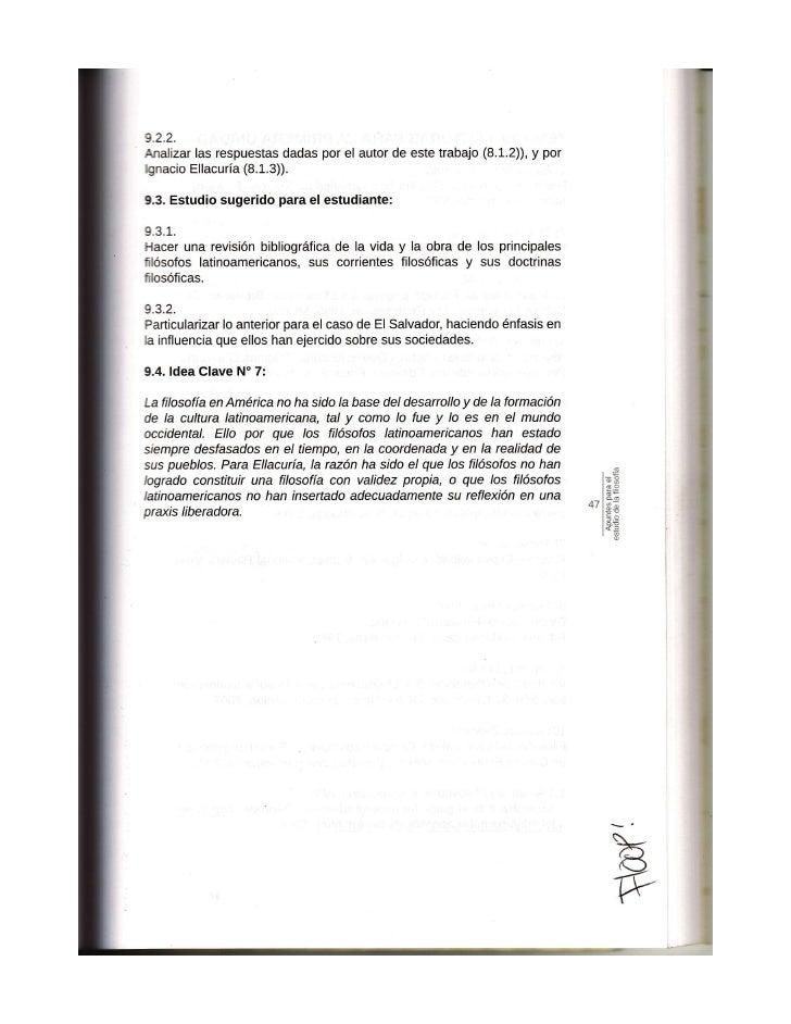 APUNTES PARA EL ESTUDIO DE LA FILOSOFIA PARTE 3
