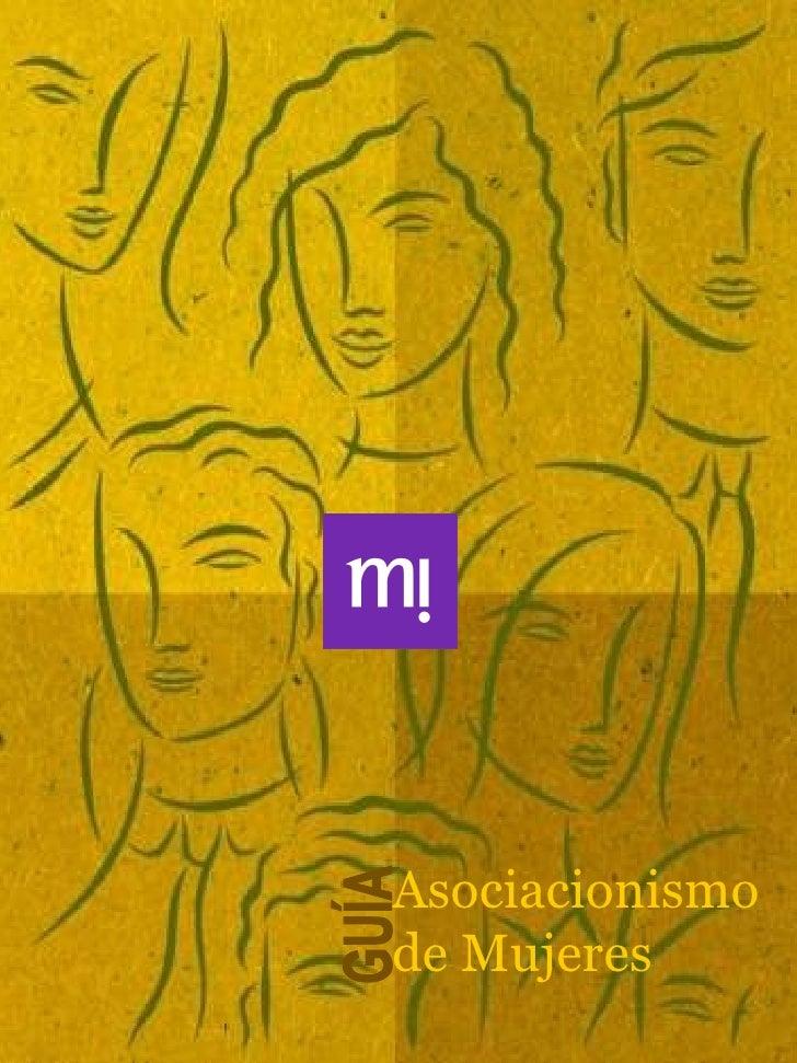 Asociacionismo de Mujeres GUÍA