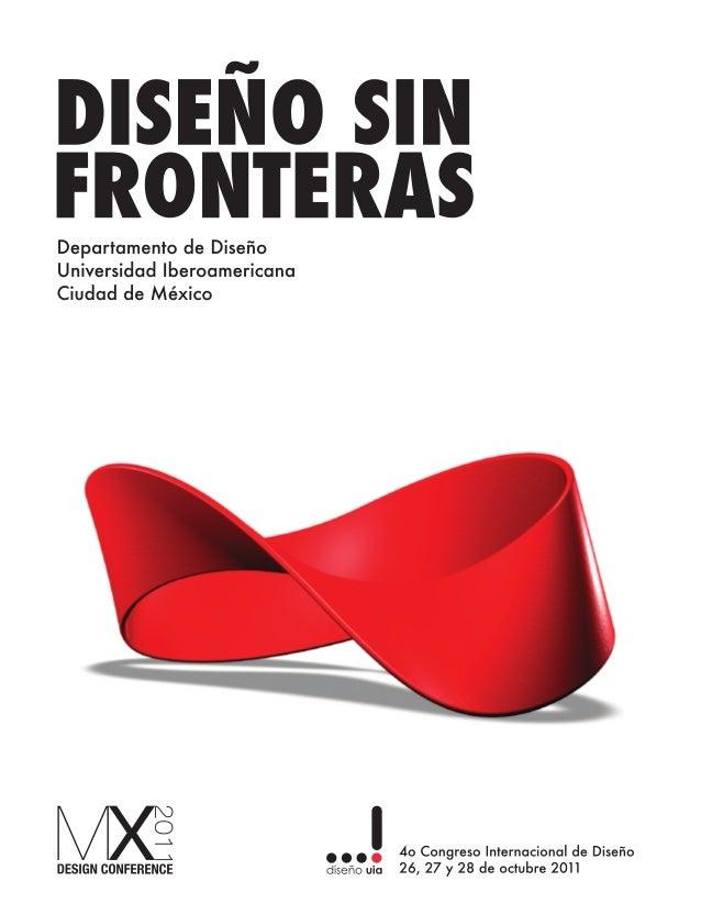 DISEÑO SIN FRONTERAS, Departamento de Diseño, Universidad Iberoamericana Ciudad de México