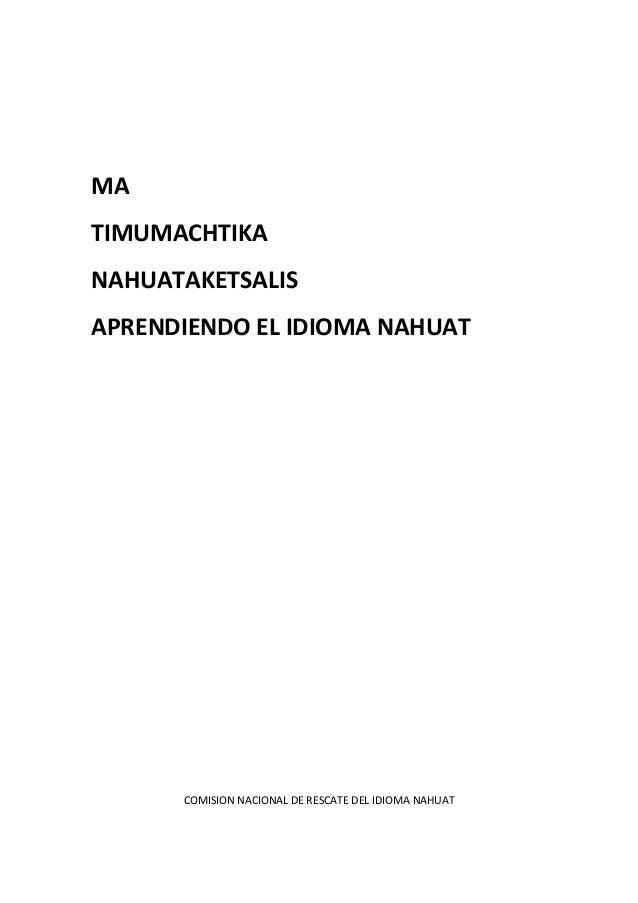 Libro nahuat