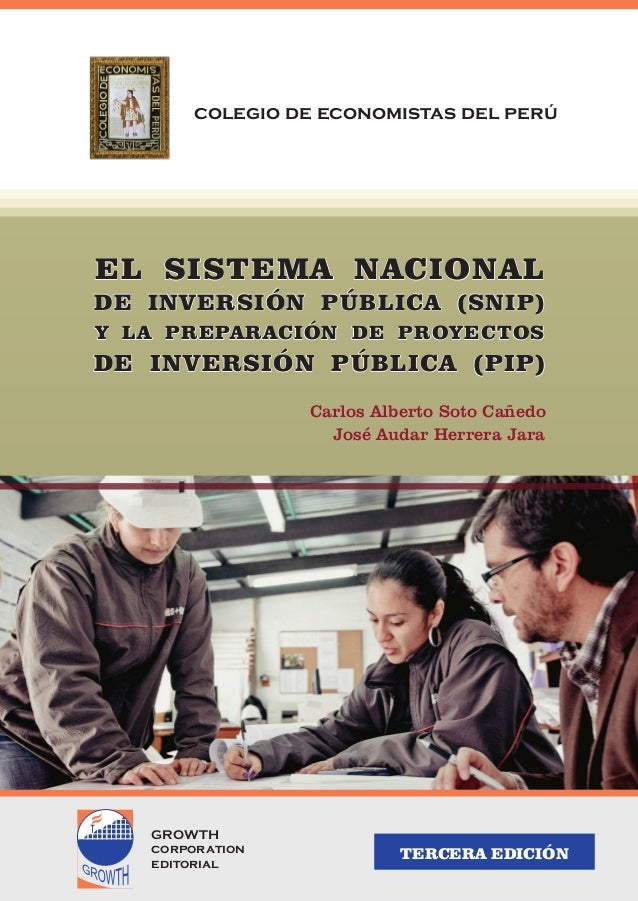 EL SISTEMA NACIONALEL SISTEMA NACIONALEL SISTEMA NACIONAL DE INVERSIÓN PÚBLICA (SNIP)DE INVERSIÓN PÚBLICA (SNIP)DE INVERSI...