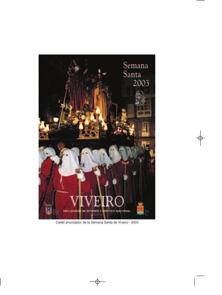 Cartel anunciador de la Semana Santa de Viveiro - 2003