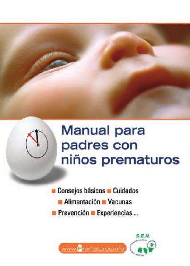Manual parapadres conniños prematuros