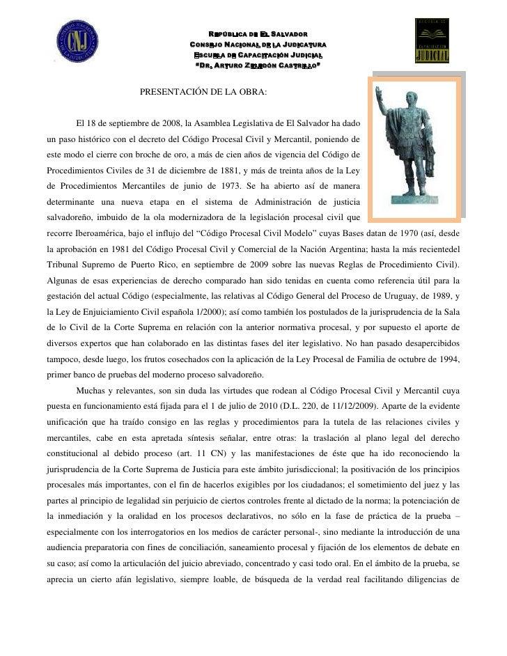 Libro procesal civil y mercantil