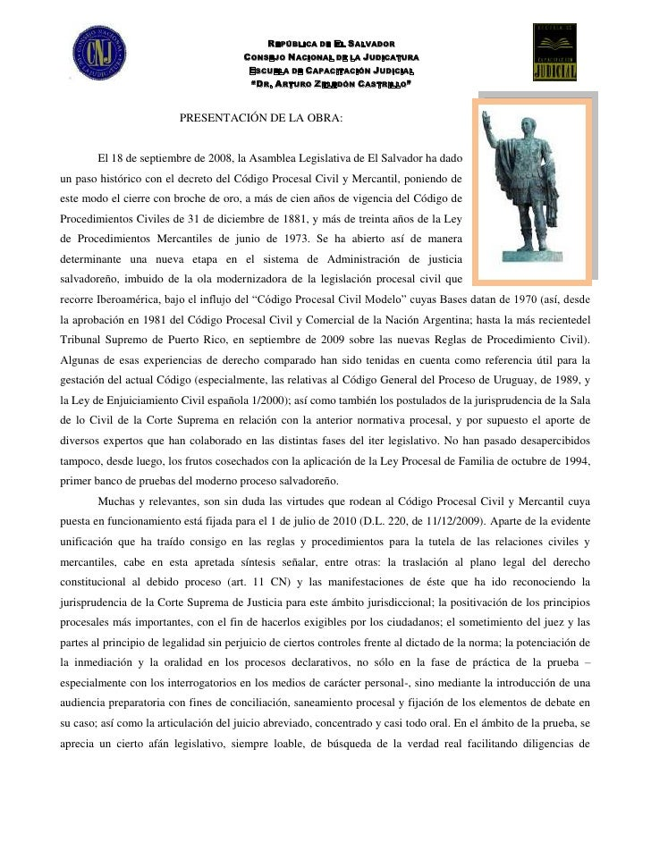 Libro procesal civil y mercantil