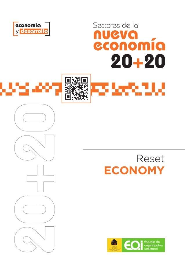 economía       Sectores de lay desarrollo               nueva               economía                    20+20             ...