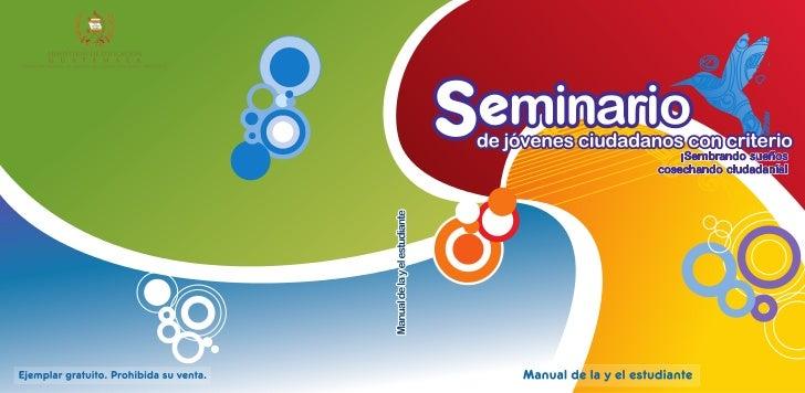 Libro seminario