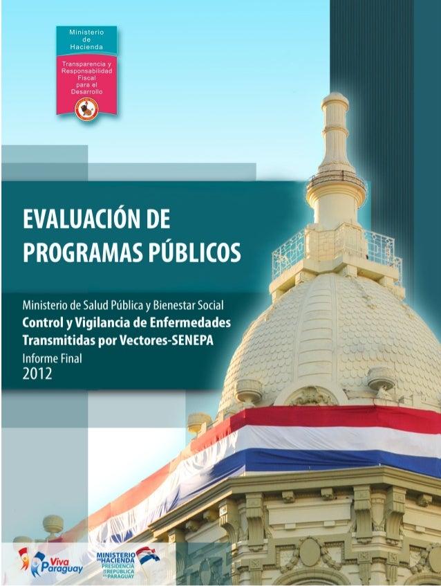PRESUPUESTO por RESULTADOS Evaluación Externa Subprograma - SENEPA 1   Dirección General de Presupuesto Departamento de...