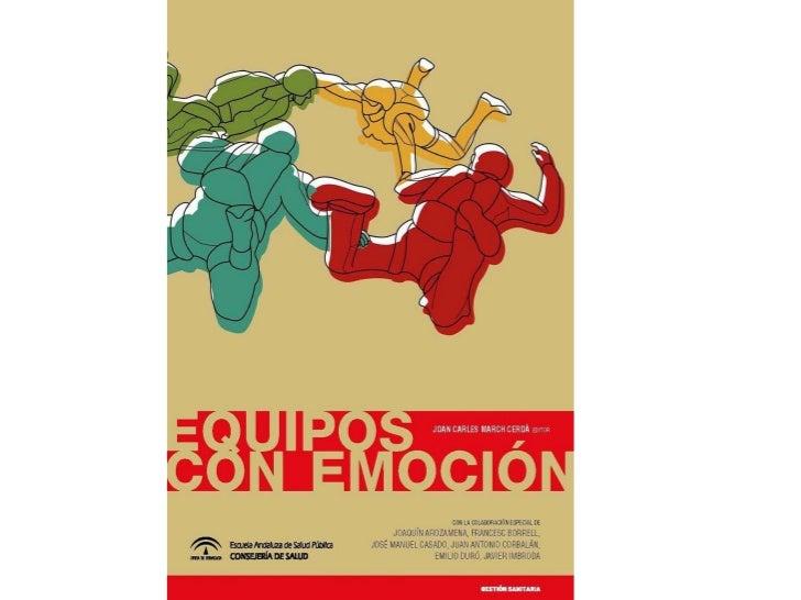 Equipos con emoción se presenta en Sevilla