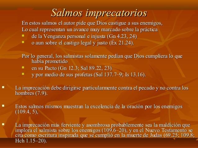 Resultado de imagen para Salmos imprecatorios