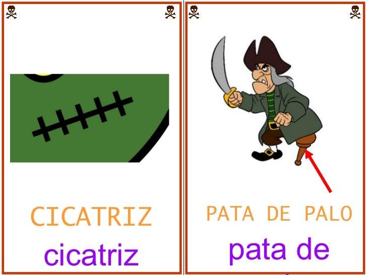 PATA DE PALO pata de palo CICATRIZ cicatriz