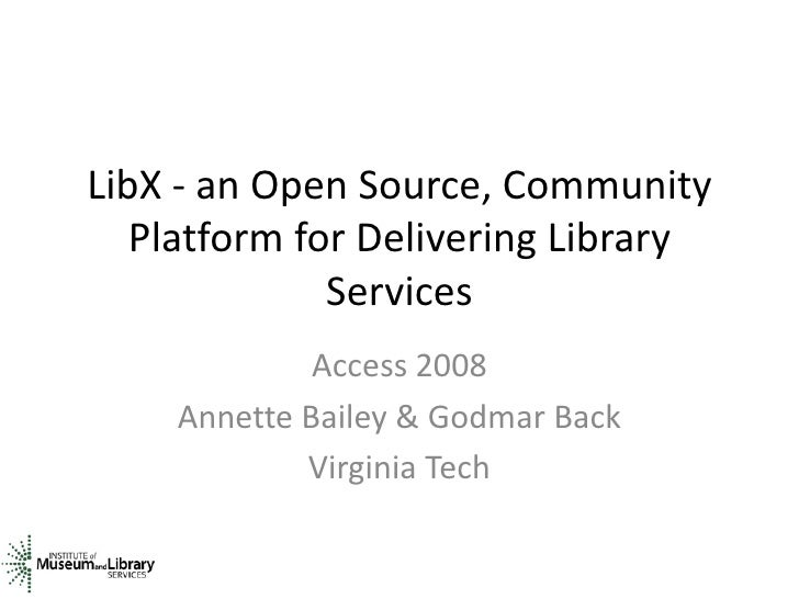 Lib X Bailey Back Access2008