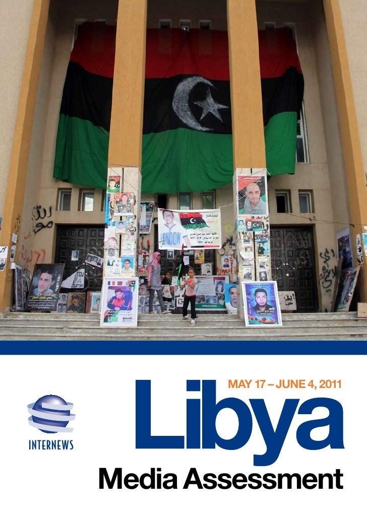 MAy 17 – June 4, 2011INTERNEWS            Media Assessment