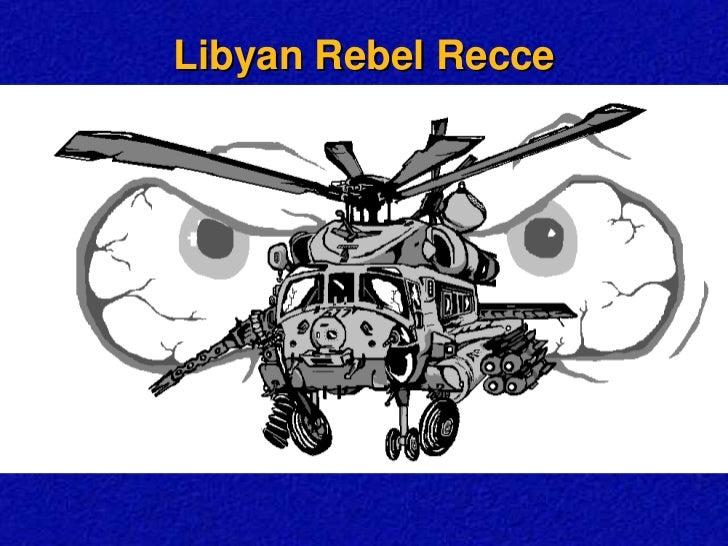 Libyan rebel recce