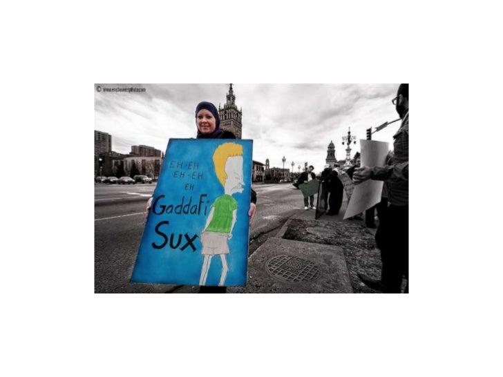 Libya protests.