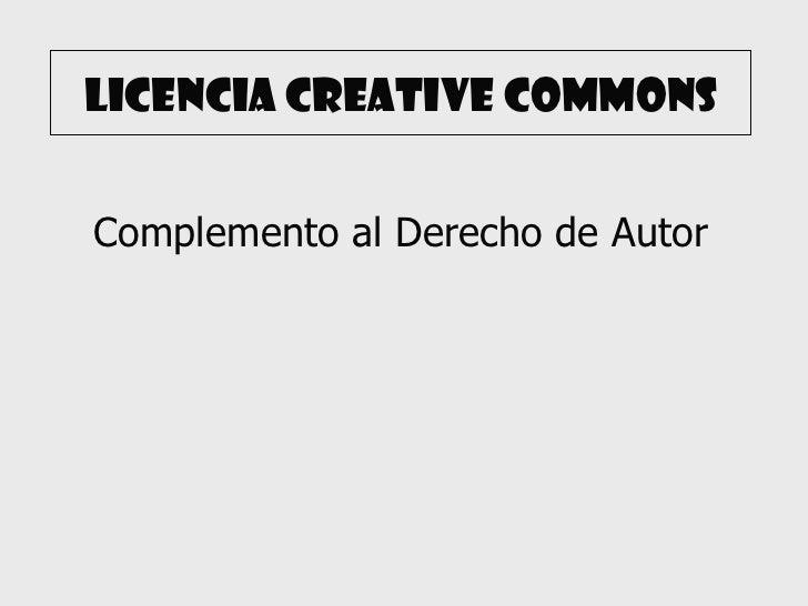Licencia creative commons editada por laura