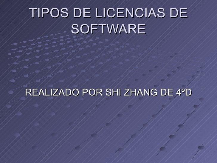 Licencias Shi